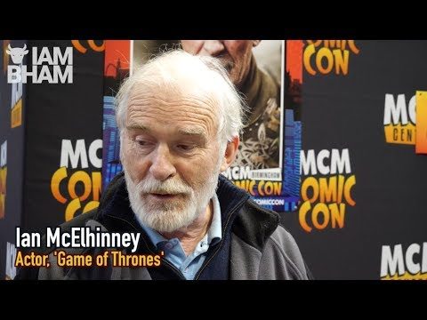 Random banter with Games of Thrones actor Ian McElhinney   MCM Comic Con 2017