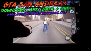 GTA San Andreas - Download .apk Android 2019 (Data + OBB)