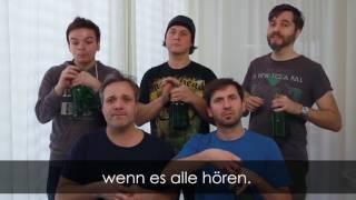 GlasBlasSing Quintett: Schnuffelbärchen