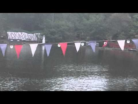 scarborough naval warfare battle peasholm park 2014