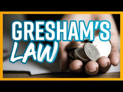 Banii răi alungă banii buni - Legea lui Gresham