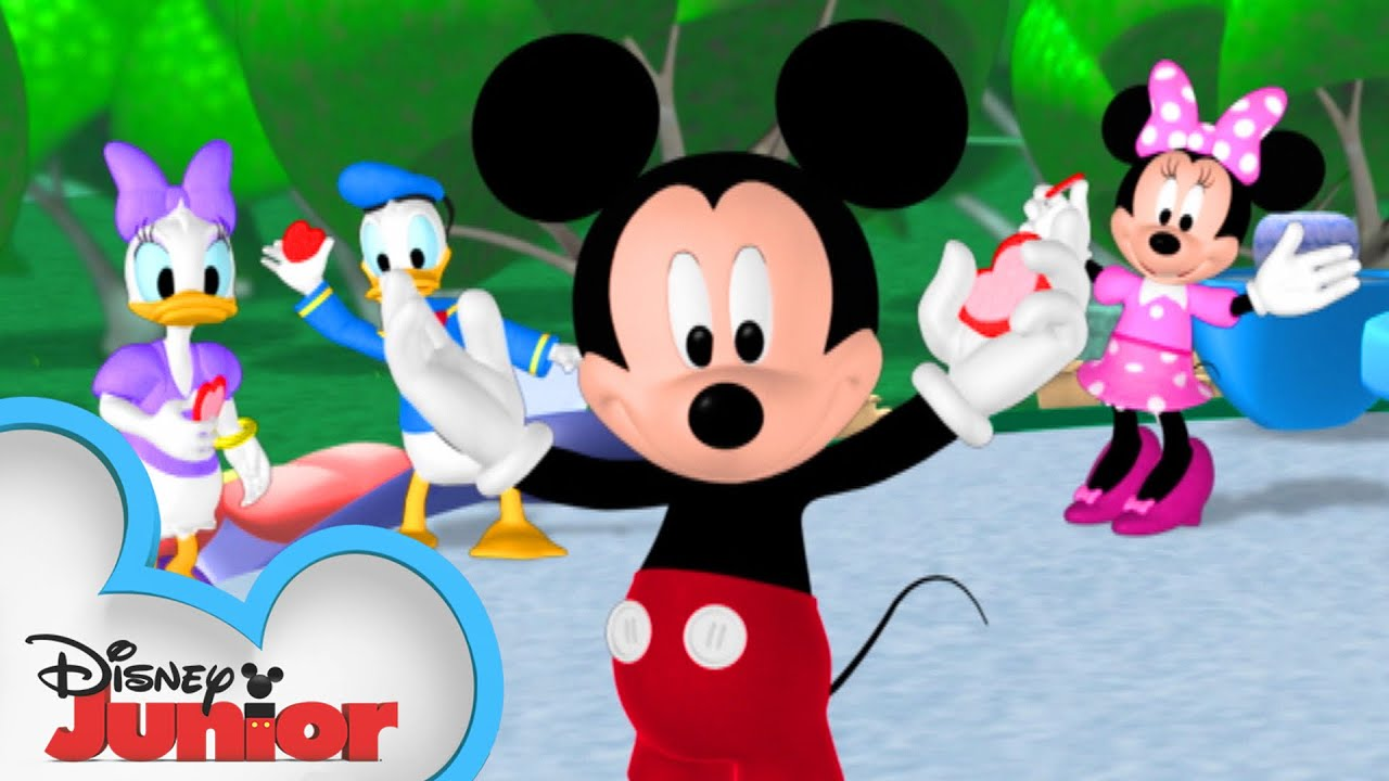 Happy Valentine S Day From Mickey And Friends Mickey Mouse Clubhouse Disney Junior Youtube