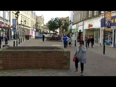 Market and Town Centre, Rotherham, South Yorkshire.