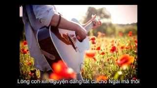 Khắc ghi ơn Ngài - beat with lyrics