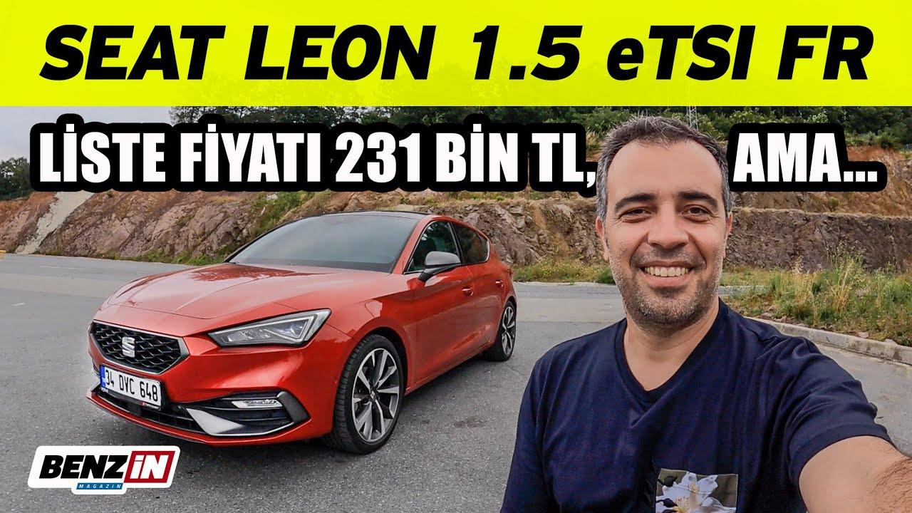 Seat Leon 1.5 e TSI FR test sürüşü
