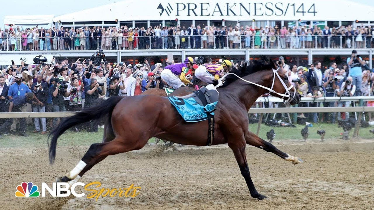 Preakness Stakes 2019: Bodexpress runs in Preakness without jockey | NBC Sports