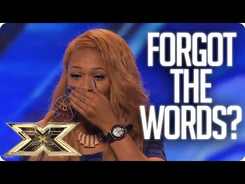 SHE FORGETS THE WORDS AND WALKS OFF! | Unforgettable Auditio