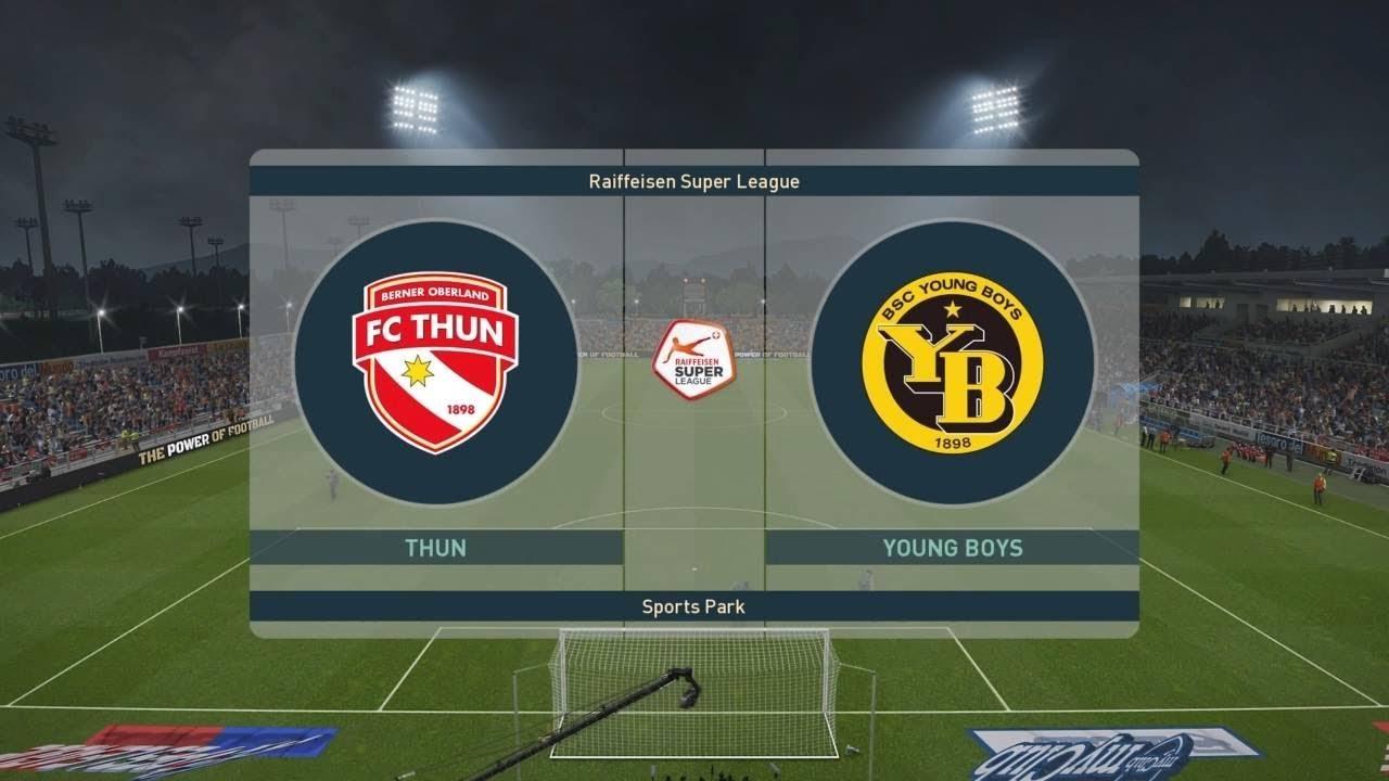 Pes 2019 Thun Vs Young Boys Switzerland Super League