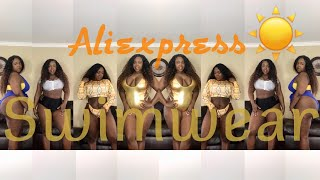 Wow $13 and under AliExpress swimsuit  haul plus size spring 2018