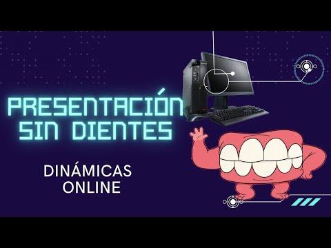 Presentación sin dientes 🤣🤣#dinamicas #online #zoom