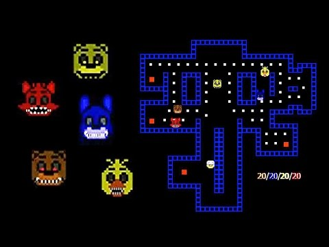FNAF PAC-MAN | Nightmare's Secret