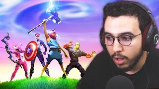 MON MODE DE JEU FAVORI (Fortnite Avengers Endgame)