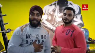 Workout session with Fitnation Gym
