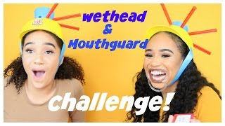 MOUTHGUARD & WET HEAD CHALLENGE WITH MY TWIN