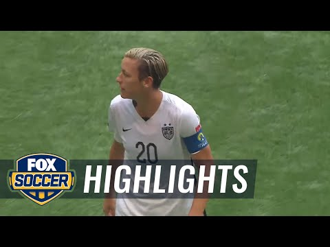 Women's World Cup Final: USA vs. Japan  FIFA Women's World Cup 2015 Highlights