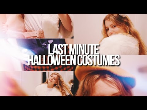 LAST MINUTE GIRLY HALLOWEEN COSTUMES