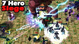 Warcraft 3 | Custom | 7 Hero Siege