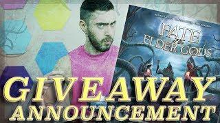 Fate of the Elder Gods Giveaway Winner!!