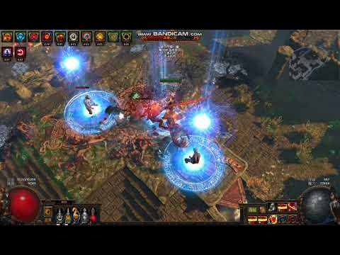 [Poe Tank]Path of Exile : T5 Ancient City Map 遠古危城 melee facetank