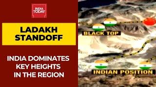 India Dominates Key Heights Tracking Every Chinese Movement At Ladakh