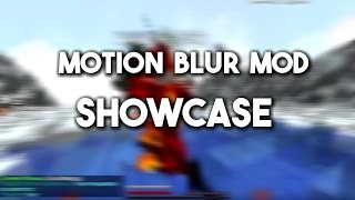 Minecraft - MOTION BLUR MOD (SHOWCASE)
