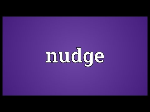 Nudge Meaning
