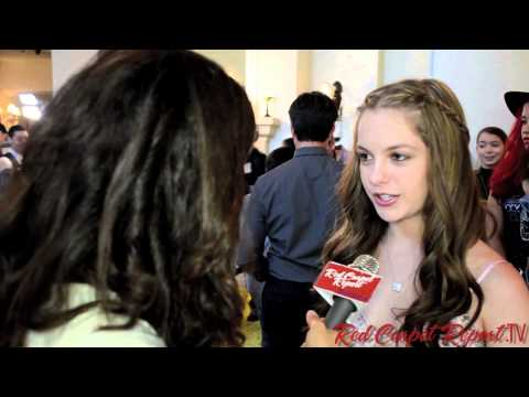 Jolie Vanier at the 34th Annual Young Artist Awards @OnlyJolieVanier