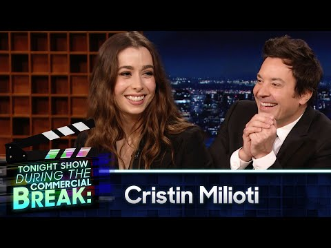 Cristin Milioti Shows Off Her Best Celebrity Impressions During Commercial Break | The Tonight Show