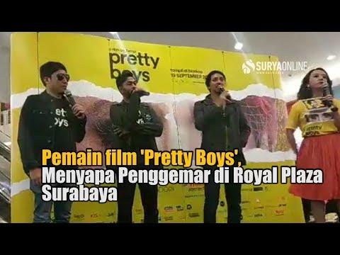 Pemain Film Pretty Boys Menyapa Penggemar Di Royal Plaza Surabaya