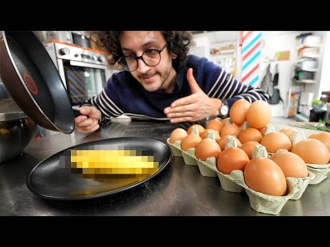 I Try To Master Jacques Pepin's Perfect Omelet...