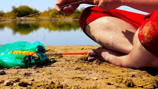 ОСЕННИЙ ЖОР КРУПНЯКА НА ДОНКИ Новый БигФиш Рыбалка на реке САЗАН АМУР Сентябрь 2021