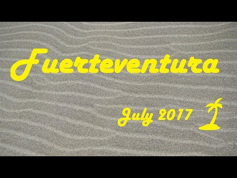 Fuerteventura - travel video