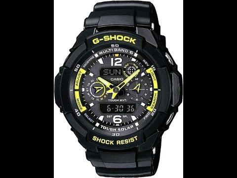 Обзор и настройка часов Casio G - shock GW-3500B-1A [5173]
