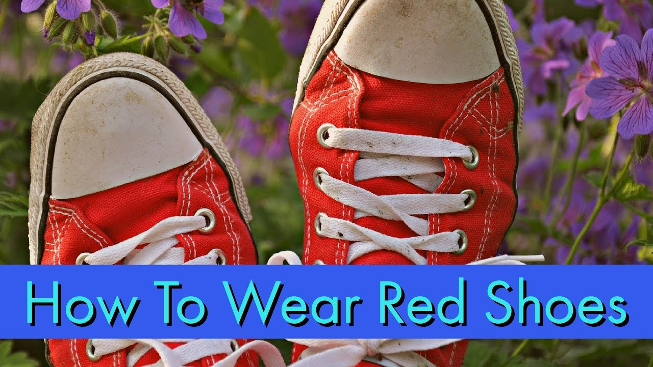 what color dress goes with red shoes