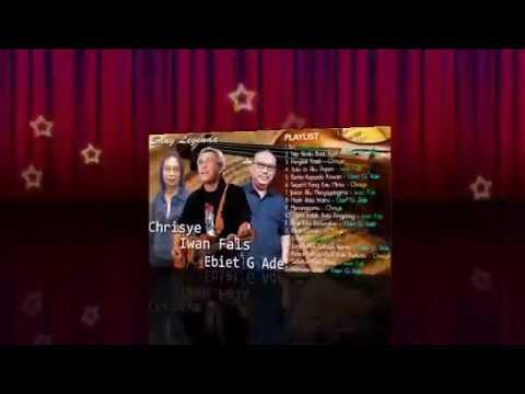 Legenda Musik Indonesia - Iwan Fals Ebiet G AD Chrisye - 18 Lagu Enak Abadi Terbaik Sepanjang Masa
