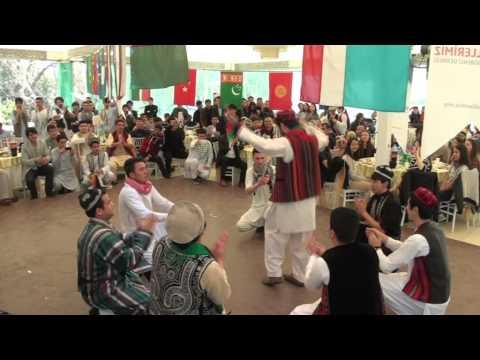 afghan students Qarsak in nawroz 1394 - izmir