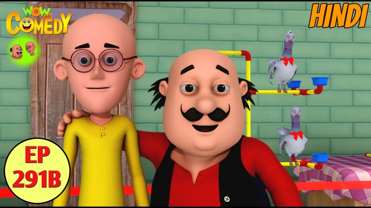 Motu Patlu | Cartoon in Hindi | 3D Animated Cartoon Series for Kids | Pigeon Courier Service