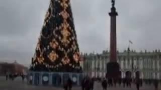 На Дворцовой площади в Санкт-Петербурге 30.12.2017 года