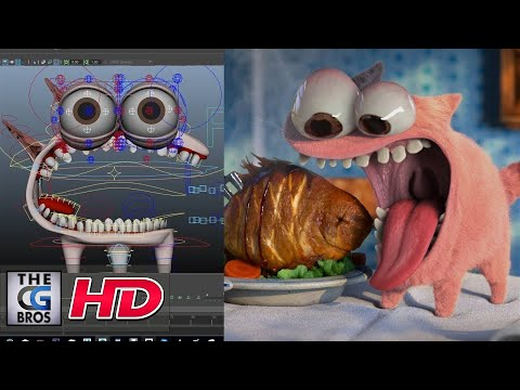 "CGI & VFX Breakdowns: ""The Food Thief RIGG - Technical Breakdown"" - by Mindbender Animation Studio"