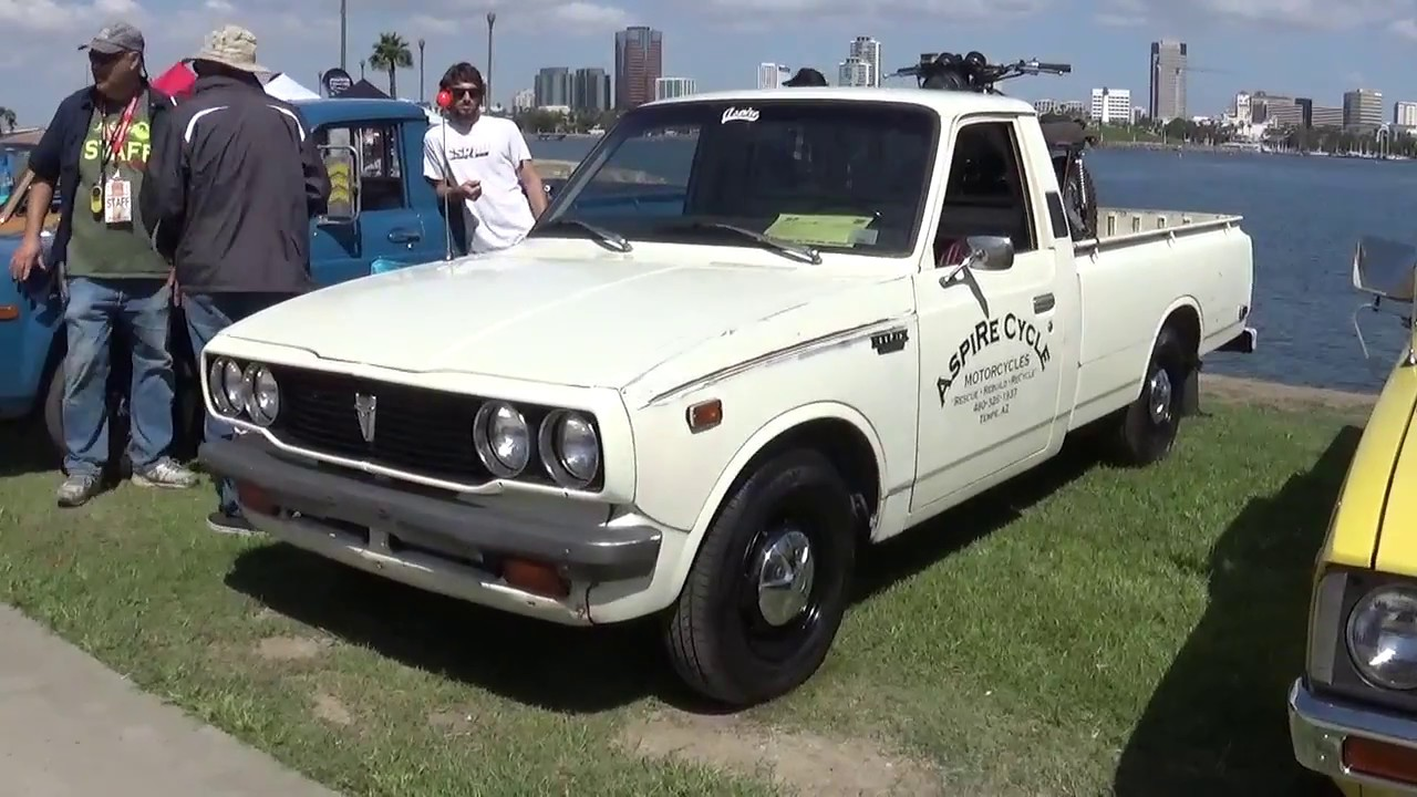 1977 toyota hilux pickup longbed youtube. Black Bedroom Furniture Sets. Home Design Ideas