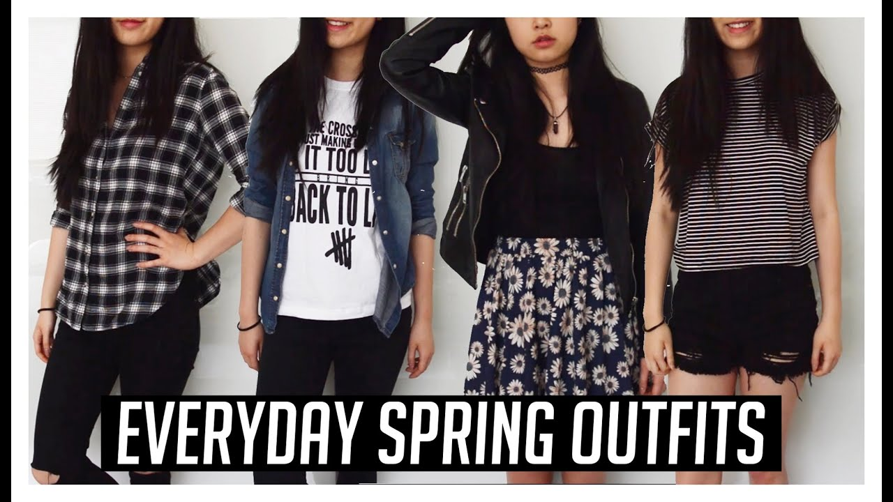 Everyday Casual Spring Outfit Ideas // Spring Lookbook ...