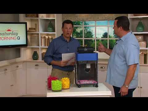 Royal 8-sheet Micro-Cut Paper Shredder with 80-sheet Auto-Feed Tray on QVC