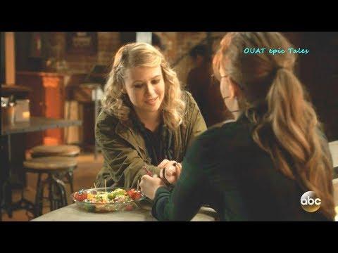 Once Upon A Time 7x18 Robin Puts Back Bracelet on Alice / Tilly  Season 7 Episode 18 Scenes