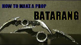 How to Make a Prop Batarang -- Arkham Knight
