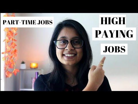 HIGH PAYING PART TIME JOBS FOR INTERNATIONAL STUDENTS IN AUSTRALIA