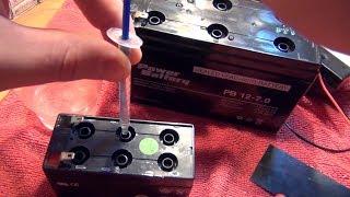 Про восстановление AGM аккумуляторов 🔋