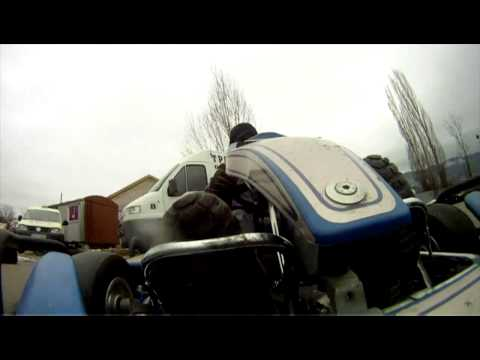 Sofia karting track Jitnica - karting cam compilation