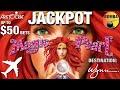 JACKPOT! 🧜🏼♀️ Magic Pearl 🧜🏼♀️+ Happy Lantern Lighting Cash Arrival ✈️ at Wynn Las Vegas Casino 🎰