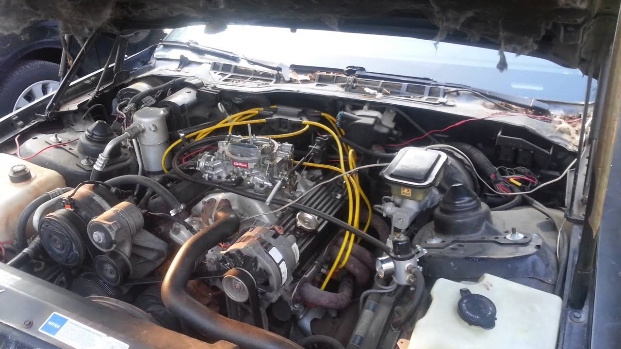 maxresdefault 1991 camero rs tbi to carb 350 swap youtube wiring harness for tbi to carb swap at eliteediting.co