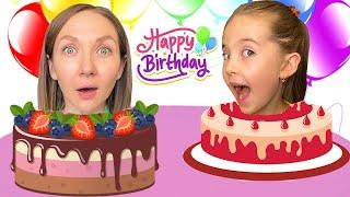 Маша и мама и Сборник видео про день рождения